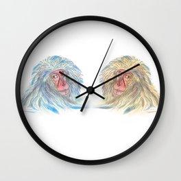Macaco blues Wall Clock