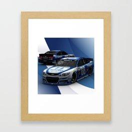 #DaleJr #Nationwide design. Framed Art Print