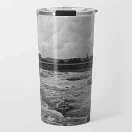 Looking Downriver Travel Mug