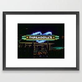 Threadgills ~ Austin, Texas Framed Art Print