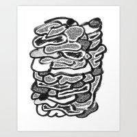 Stomach Knot 4 Art Print