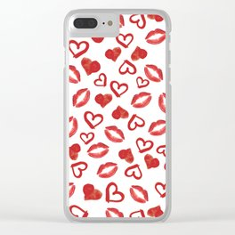 Kiss me Clear iPhone Case