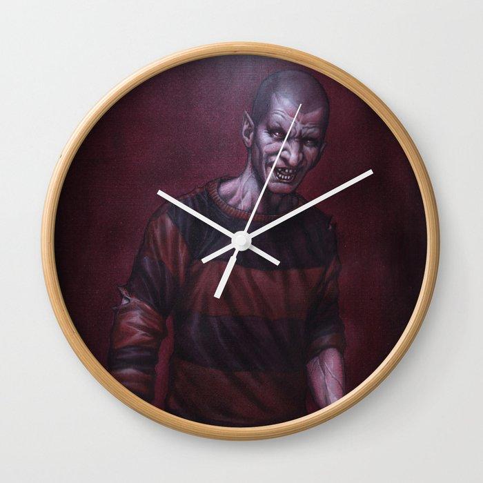 Jeffrey Darkside Wall Clock