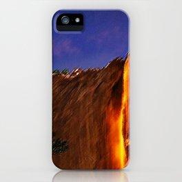 Horsetail Falls - Yosemite Landscape Painting by Jeanpaul Ferro iPhone Case