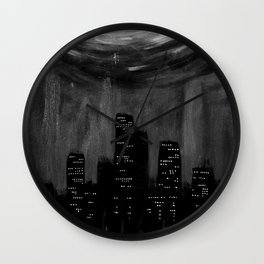 City Of Ashes Wall Clock