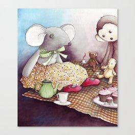 The Teddy Bear Picnic Canvas Print