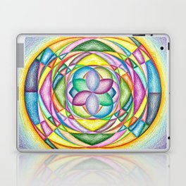 Vortex of Colors - The Rainbow Tribe Collection Laptop & iPad Skin