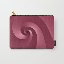 Rose-colored Wave Carry-All Pouch