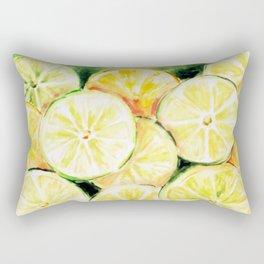 Limes and lemons Rectangular Pillow