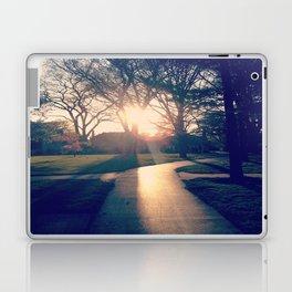 white way of light. Laptop & iPad Skin