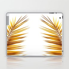 golden palm leaf II Laptop & iPad Skin