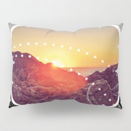 Peel Sunset - Circle graphic Pillow Sham