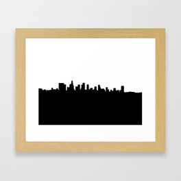 Los Angeles Shadow Framed Art Print