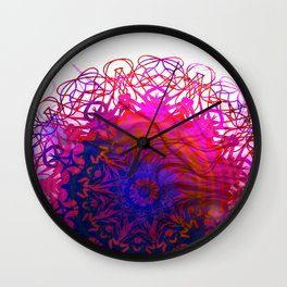 CLEANLINESS REGRESSION Mandala Wall Clock