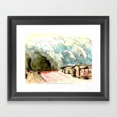 The Dust Bowl Blues Framed Art Print