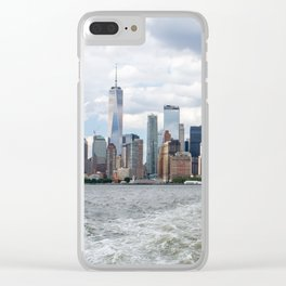 NYC Skyline 2017 Clear iPhone Case