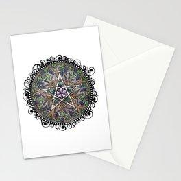 Abundance Pentacle Stationery Cards