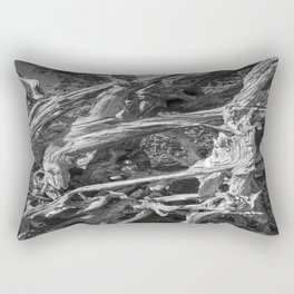 Abstract drift wood Rectangular Pillow
