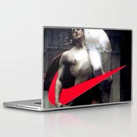nike Laptop & iPad Skins featuring victoria Nike men by CHESSOrdinary