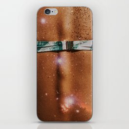 galaxies inside her iPhone Skin