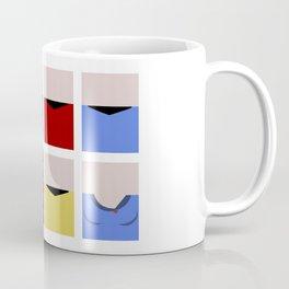 Enterprise 1701 - Minimalist Star Trek TOS The Original Series - Trektangle startrek - Trektangles Coffee Mug
