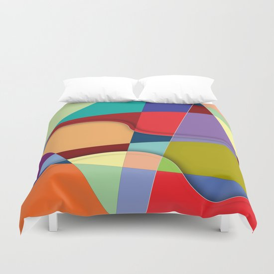 Abstract #303 Duvet Cover