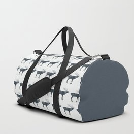 Elk and Mountains Duffle Bag