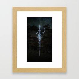 Sigil to Invoke the Magic of Liminal Spaces Framed Art Print