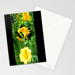 Flora Gold II Stationery Cards
