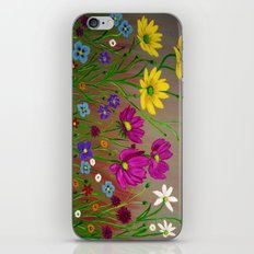 Spring Wild flowers  iPhone & iPod Skin
