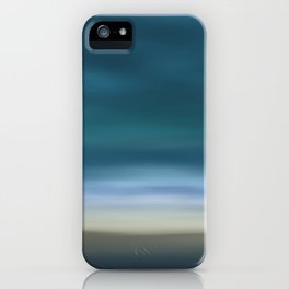Dreamscape #7 blue-green iPhone Case