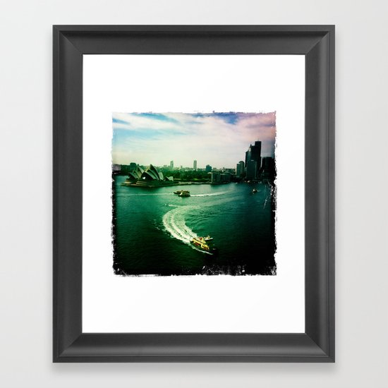 Sydney Harbour Opera House Framed Art Print
