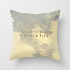 I Wish for You  Throw Pillow
