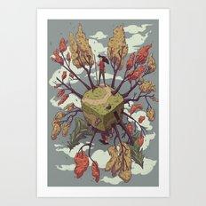 Fall Perspectives Art Print