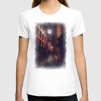 stockholm T-shirts featuring Gamla Stan, Stockholm. by Viviana Gonzalez