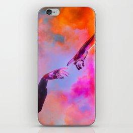 La Création d'Adam - Dorian Legret x AEFORIA iPhone Skin