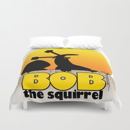 Screaming squirrel Duvet Cover