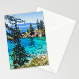 Lake Tahoe Bay Stationery Cards