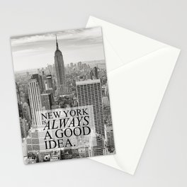 New York is Always a Good Idea Stationery Cards