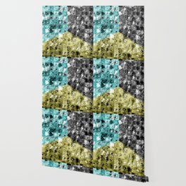 Glass Tiles Tricolor CBY Wallpaper