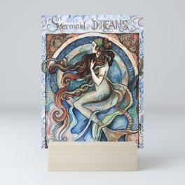 Mermaid Dreams. Mini Art Print