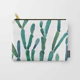Succulent rhipsalis watercolor Carry-All Pouch
