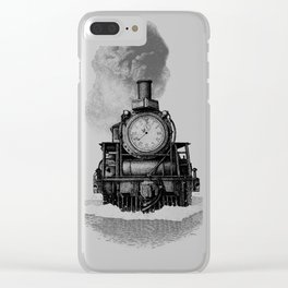Through Time Clear iPhone Case