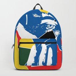 Mystic Hands Vintage Graphic Design Art Decoration Backpack
