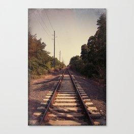 Train Whistle Blues Canvas Print