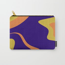 KNICK - bright abstract design orange yellow blue Carry-All Pouch
