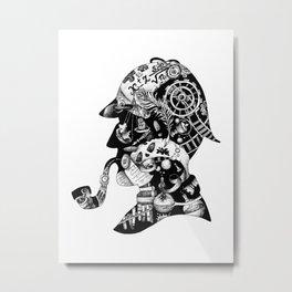 Mr. Holmes Metal Print