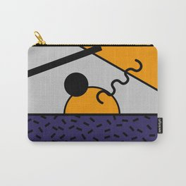 Memphis Design 80's style Carry-All Pouch