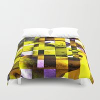bob dylan Duvet Covers featuring Cubist / Bob Dylan by Maioriz Home