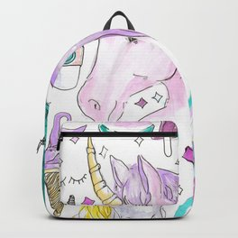 cute unicorns and things Backpack